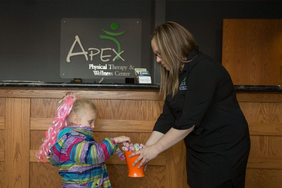 Our Apex Physical Therapy & Wellness warm welcoming