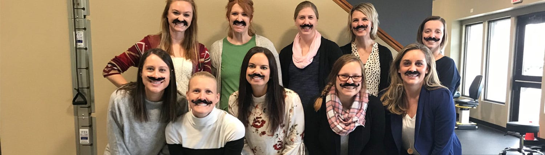 The ladies of Apex explain Movember!