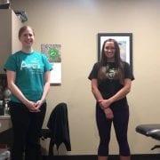 Kass and Anna teach balance vision and dance