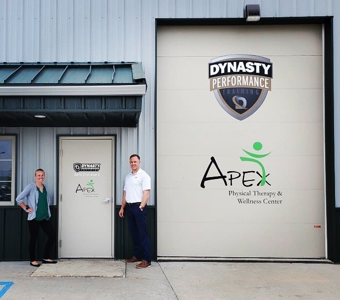 Apex PT wellness and Dynasty performance team ip