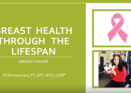 Breast Health through the lifetime