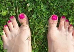Try Running Barefoot