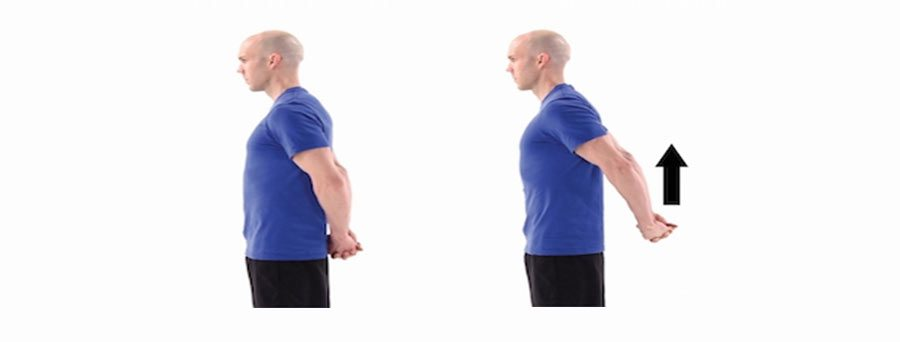 Chest and bicep stretch